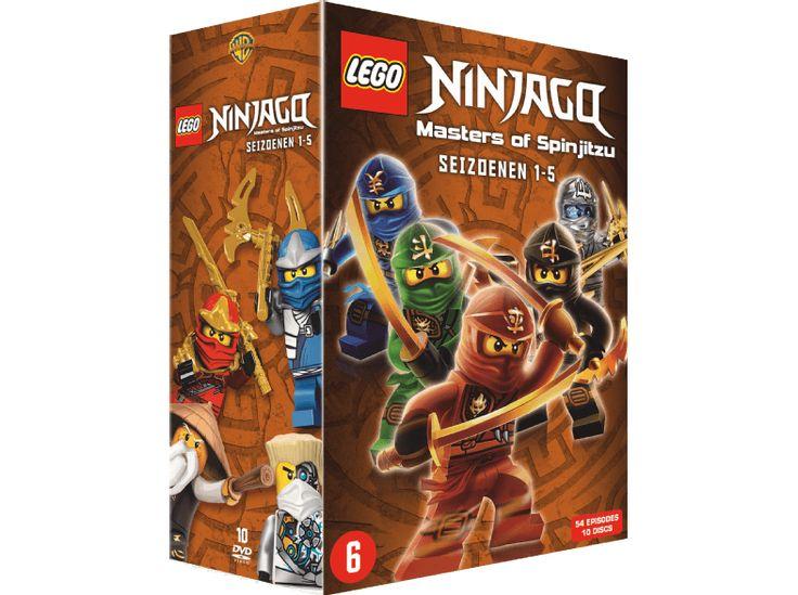 on aime WARNER HOME VIDEO LEGO Ninjago: Masters of Spinjitzu Season 1-5 chez Media Markt