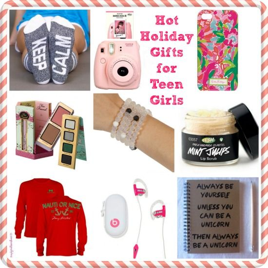 holiday gifts for teen girls