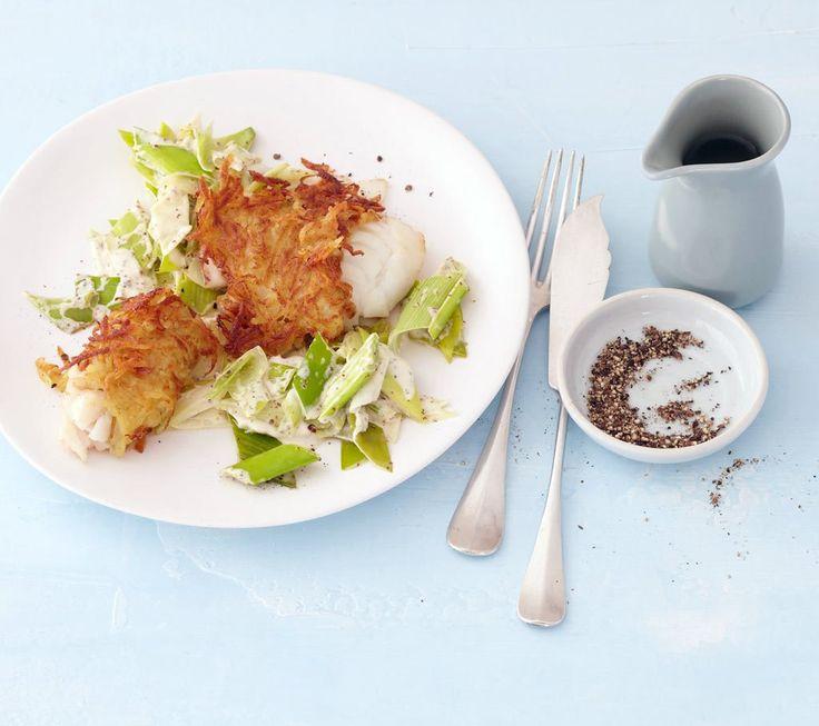 Dorsch mit Kartoffelkruste Rezept - ESSEN & TRINKEN