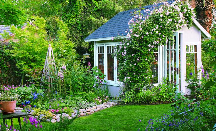 How To Create A Classic Cottage Garden Hobbytradgard Classic Cottage Create Garden Hobbytradga Bauerngarten Englische Landhausgarten Gewachshaus Hutte