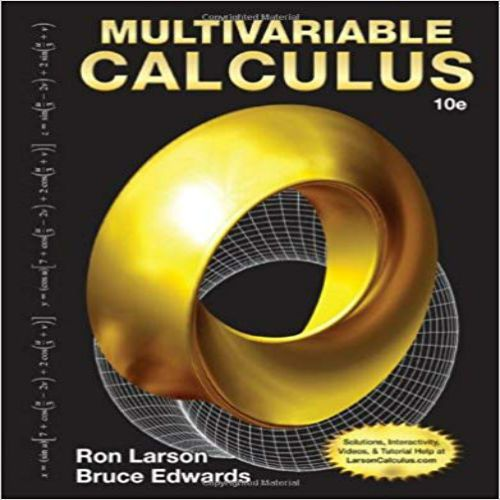 Calculus 10th Edition by Ron Larson (eBook PDF) (ISBN ...
