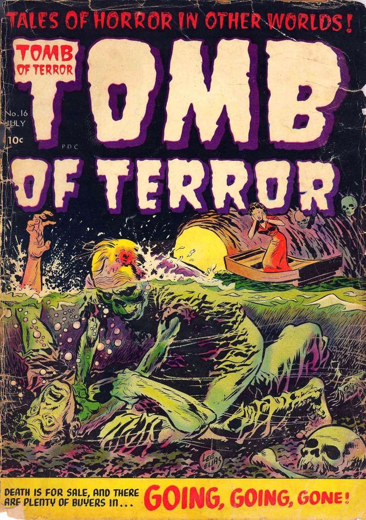 Comic Book Cover For Tomb of Terror v1 #16