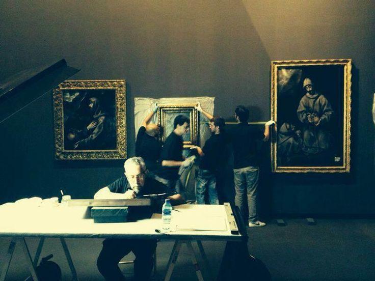 Esto es lo que pasa, de puertas adentro, en Santa Cruz. ¡Empieza la cuenta atrás para 'El Greco: Arte y Oficio'!