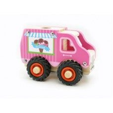 Buy wooden ice cream truck online
