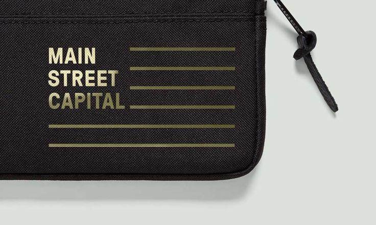 Main St. Capital brand Identity #iconika #PeopleFriendlyBrands