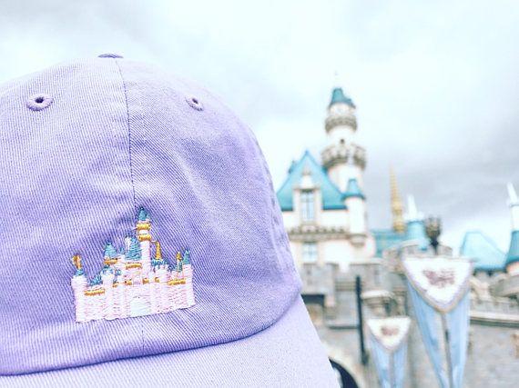 Sleeping Beauty Castle Disney Dad Hat Disneyland Castle Dad