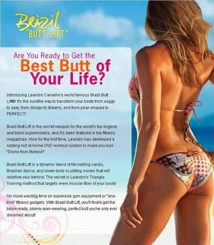 My fitness routine brazilian butt lift dvd review