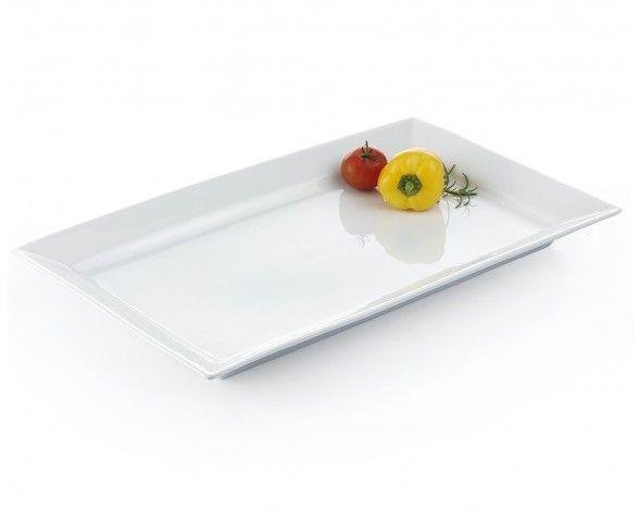 MM-LG RECT PLATTER 44X27CM.WHITE - Serveware - Entertaining   Stokes Inc. Canada's Online Kitchen Store