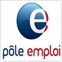 Logo officiel de pole emploi, l'agence national pour l'emploi en france.