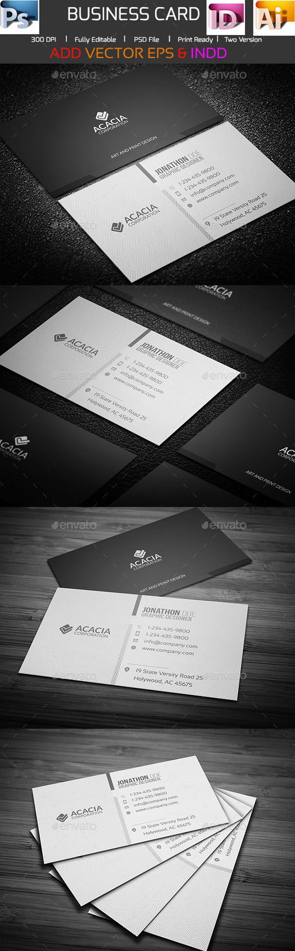 24 best Business Cards images on Pinterest | Business card design ...