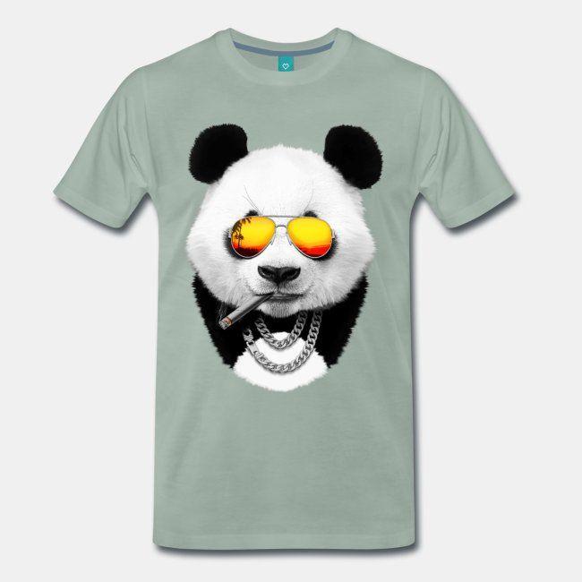 Summer panda Tee  #sun #sunset #dusk #panda #pandabear #bear #animal #cool #travel #summer #cool #funny #print #buy #sale