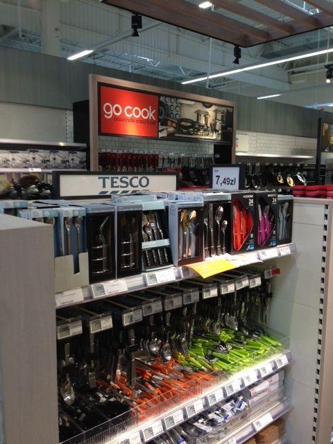 Tesco Home CE - Visual Merchandising - Customer Journey - Design www.clearretailgroup.eu