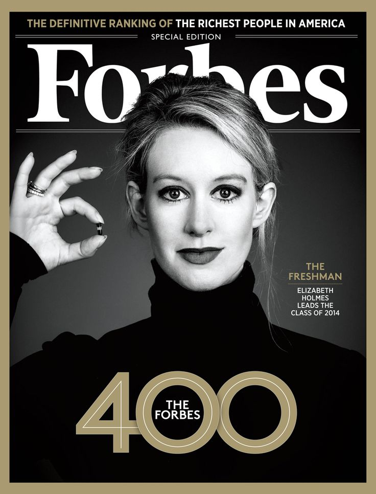 Elizabeth Holmes has a net worth of $4.5 billion. Meet the newcomers to the Forbes 400.