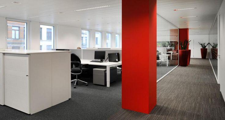 Open space into the premises of Atradius in Anvers, Belgium