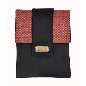 Lola Victoria Design - etui tablet iPad Red Chessboard