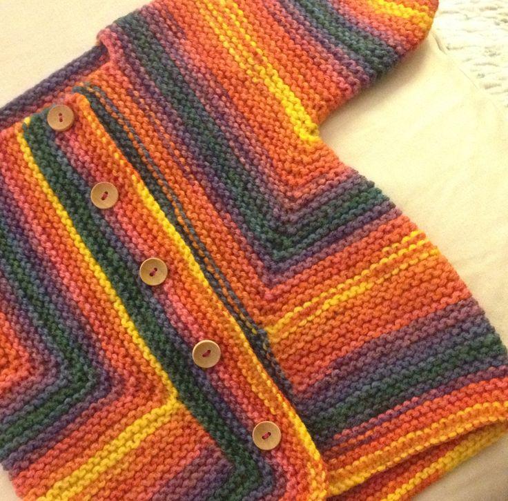 Baby surprise jacket  after Elizabeth Zimmerman  Knitting Workshop book