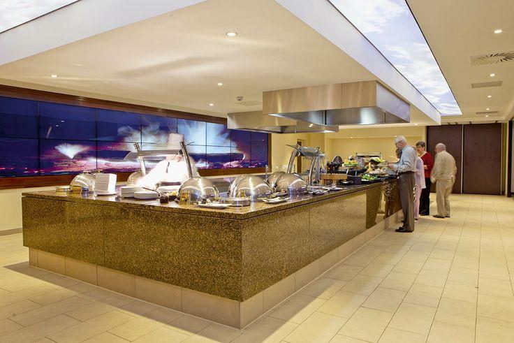 Alvaston Hall Hotel Cabaret Restaurant - new carvery eating area