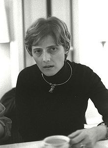 Petra Karin Kelly (29 November 1947 – 1 October 1992) was a German politician and activist. She was instrumental in founding the German Green Party, the first Green party to rise to prominence worldwide.
