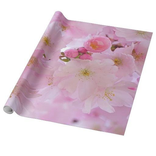 Cherry Blossoms,japanese Wrapping Paper
