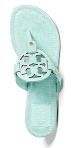 Torby Burch #mint sandals
