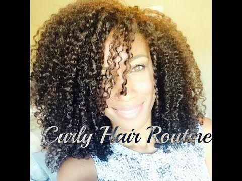 Miix Mii: Nikki's Curly Hair Routine - YouTube