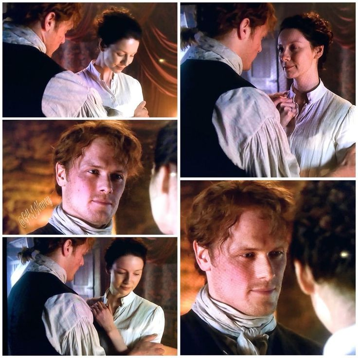 Jamie and Claire - Outlander_Starz Season 3 Voyager - Episode 307 Creme de Menthe - October 29th, 2017