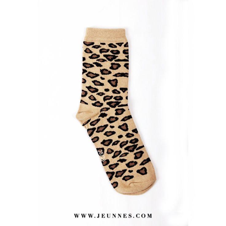 Leopard Socks Only 40k idr  Kindly visit our web www.jeunnes.com