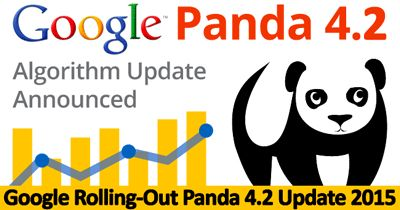 Google Begins Rolling Out Its Latest Algorithm Update – Google Panda 4.2 Read more at http://www.business2community.com/seo/google-begins-rolling-out-its-latest-algorithm-update-google-panda-4-2-01285147#zfykD7dK1WUiqS1T.99