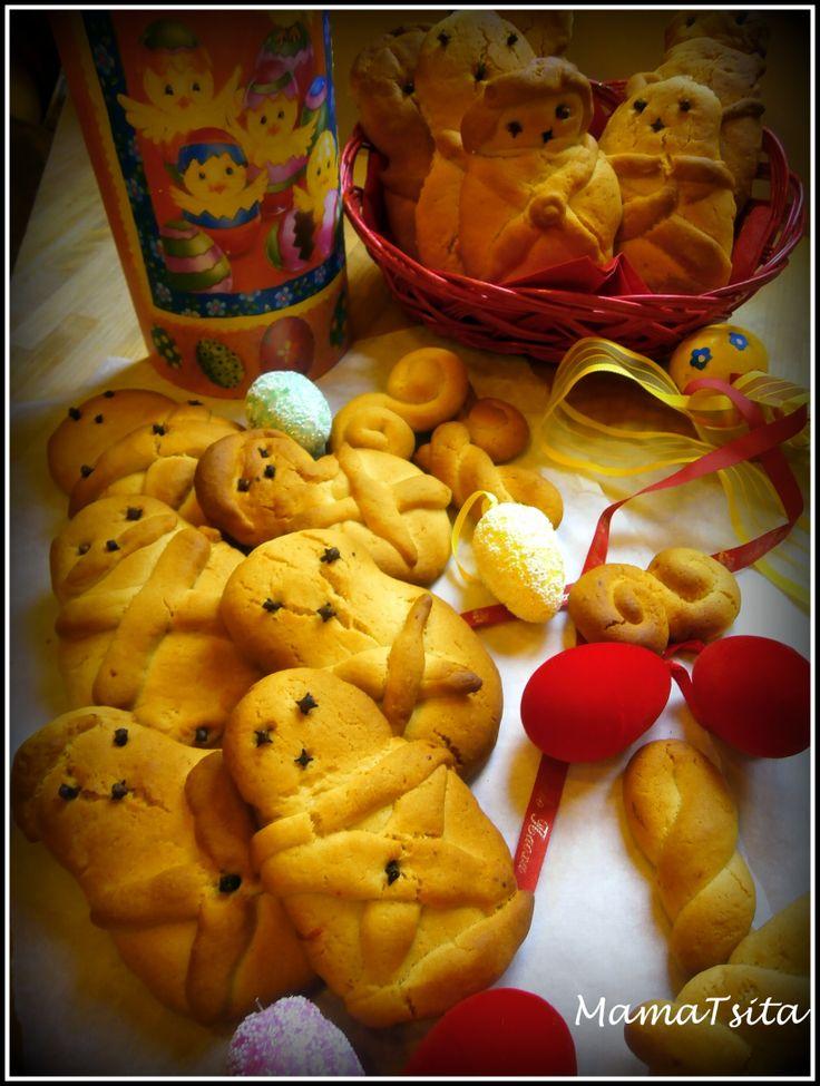 Lazarakia. Pre Easter cookies