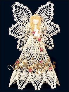 photo inspiration. similar to this, but not quite the same-changing the skirt above the pineapples. for a tree topper. Pineapple Angel