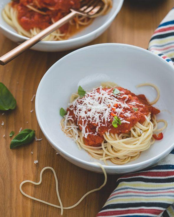 simpele lekkere pasta