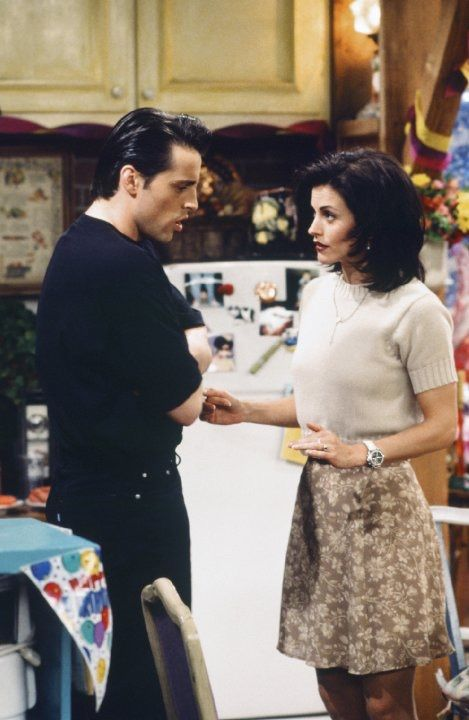 Joey and monica