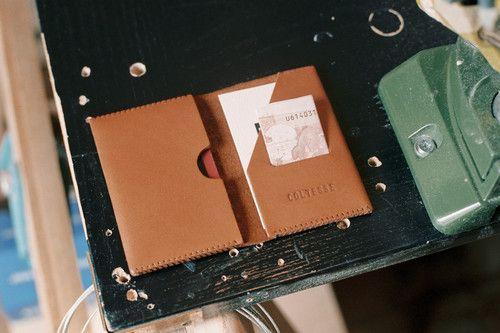 Leather Card Holder - Coltesse - Cools