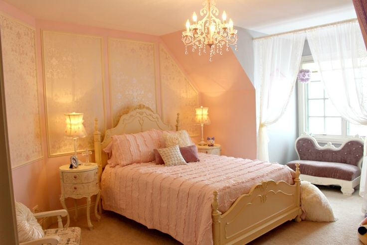 Girls room redo room decor ideas pinterest for Princess decorations for rooms