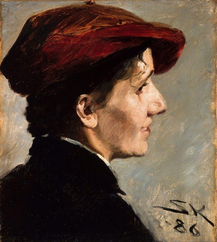 Peder Severin Krøyer - Marianne Stokes, 1886 - Skagen Museum, Skagen, Denmark
