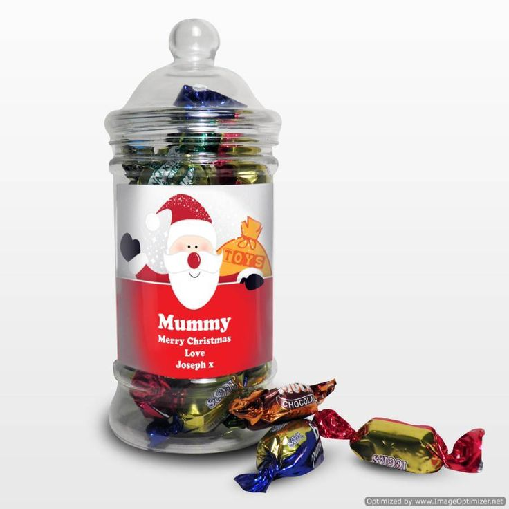 Personal Touch Gifts - Santa Traditional Toffee Jar, £7.99 (http://personaltouchgifts.co.uk/santa-traditional-toffee-jar/)