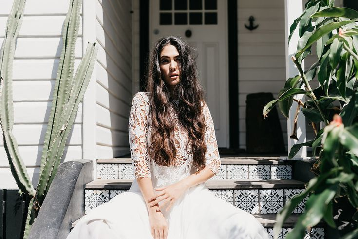 New Zealand bridal brand Daisy Brides by Katie Yeung captured their latest bridal dresses on a sunny picture perfect day in Byron Bay.