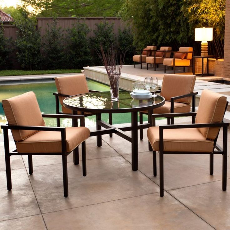 Garden Furniture Dining Set Uk Antique Rattan Contemporary Outdoor For Small  With Round Table And Brown