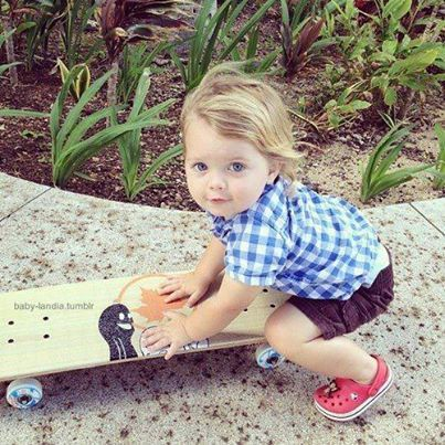 Fresh Baby Boy Names 2014 #fashion #skateboard