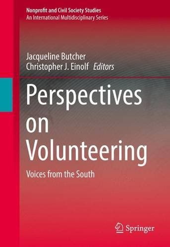 Perspectives on Volunteering: Voices from the South (Nonprofit and Civil Society Studies) free ebook