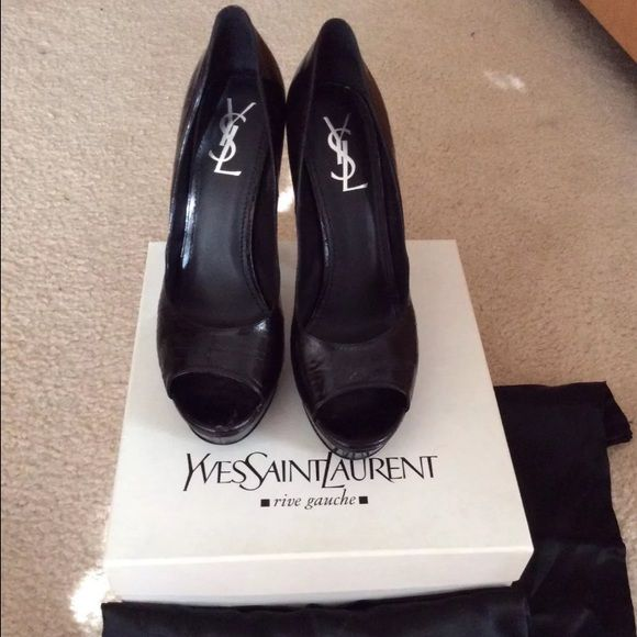 ysl designer bags - Shoes by YVES SAINT LAURENT authentic size 41/11