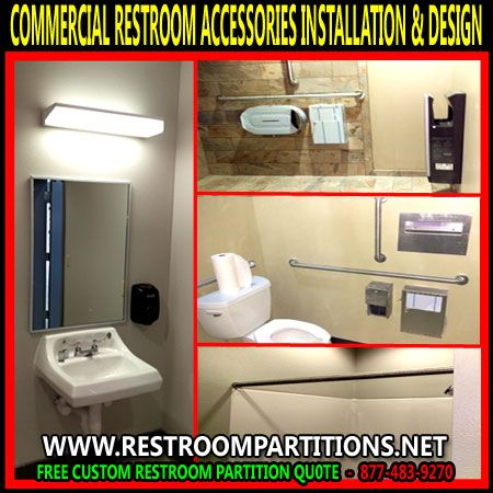 diy kit commercial restroom accessories sales and installation in austin dallas midland corpus