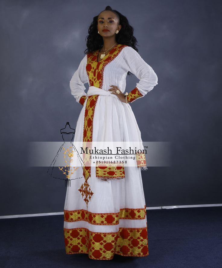 Bildresultat för ethiopian traditional dress