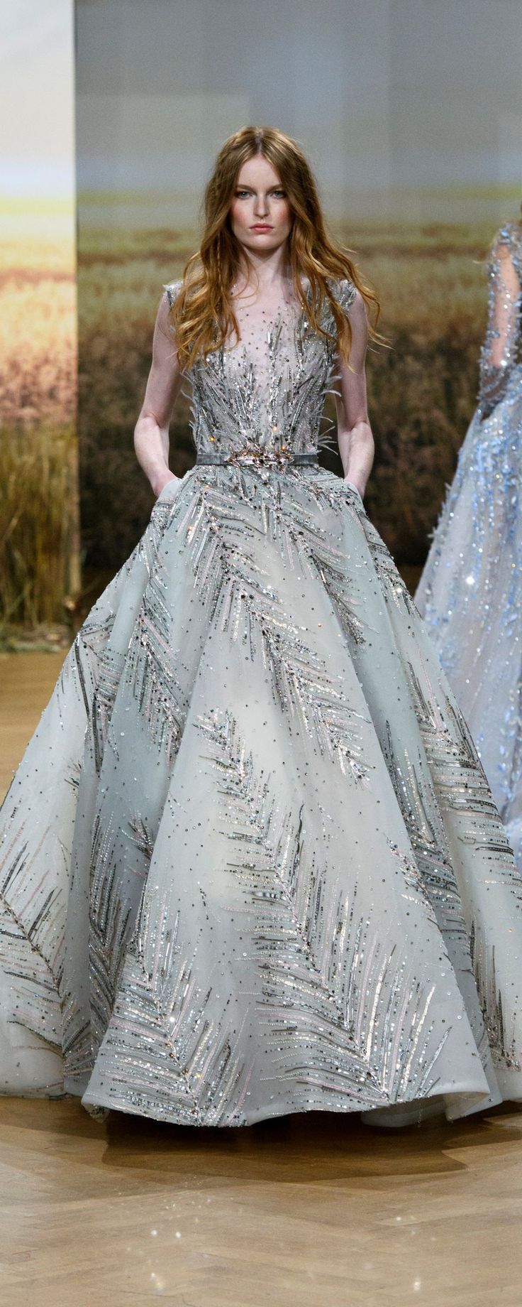 Ziad Nakad Spring-summer 2018 - Couture - http://www.orientpalms.com/Ziad-Nakad-7044 - ©ImaxTree