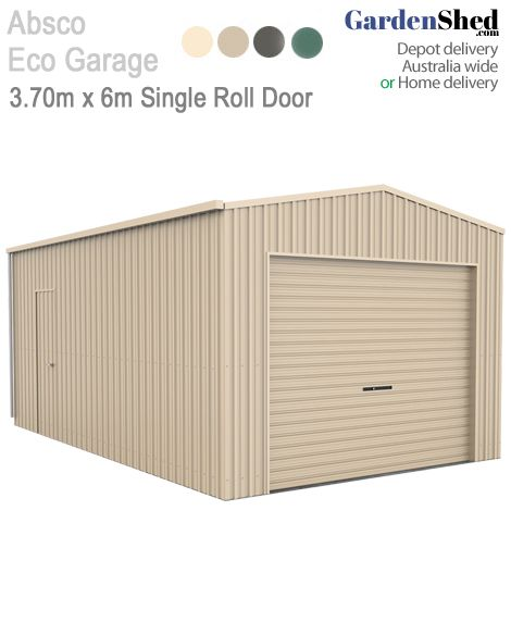 This Eco Shed is wide enough to give more space for you to store your large equipment.