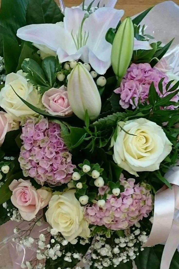 Si vede bene solo con il #cuore... #fiori #bouquet #rose