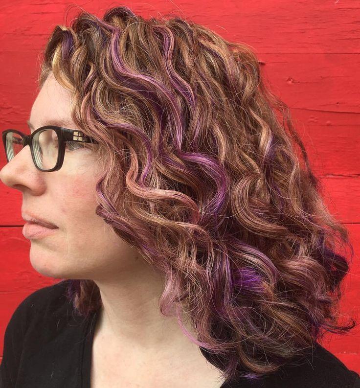 Purple Hair On Natural Hair