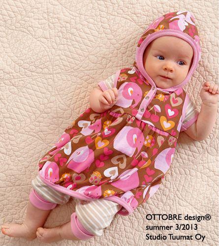 I am a lucky girl! My GirliElephant fabric featured in Ottobre!   lillestoff enemenemeins ottobre