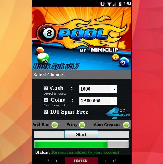 8 ball pool money hack app download