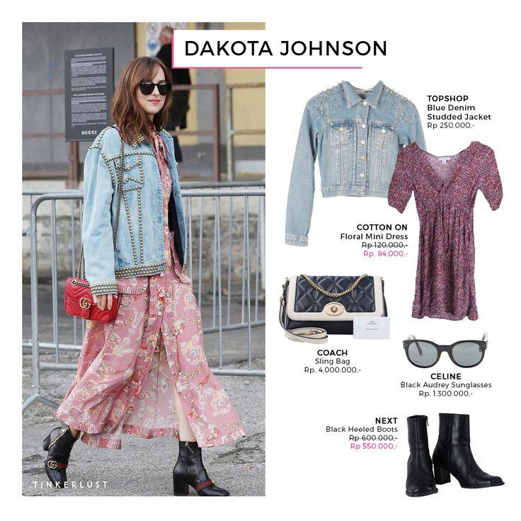 It's friday night! Whos going out Ladies? Masih suka bingung kalo mau hangout? Suka bingung outfit yang cocok buat kamu? Yuk, intip style dari Dakota Johnson.